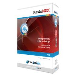 RestoNEX PRO + Sprzedaż PRO 1 stanowisko