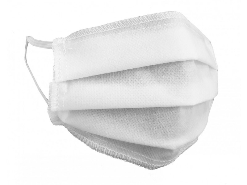 Maseczka medyczna skuteczna 99,8% trójwarstwowa maska maski